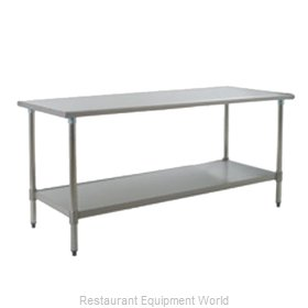 Eagle T2472SB Work Table 72 Long Stainless steel Top
