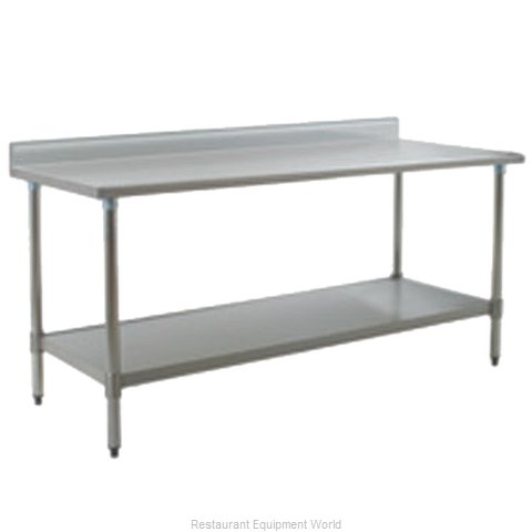Eagle T2472SEB-BS-2X Work Table 72 Long Stainless steel Top