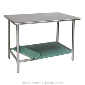 Eagle T2472STB-L1-X Work Table 72 Long Stainless steel Top