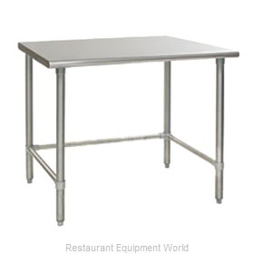 Eagle T2472STEB Work Table 72 Long Stainless steel Top