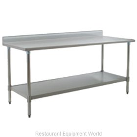 Eagle T2484SEB-BS-2X Work Table 84 Long Stainless steel Top