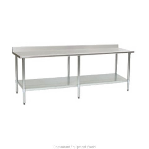 Eagle T2496B-BS-1X Work Table 96 Long Stainless steel Top