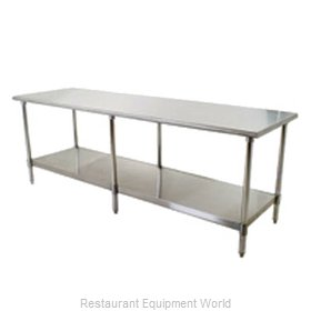 Eagle T2496SB Work Table 96 Long Stainless steel Top
