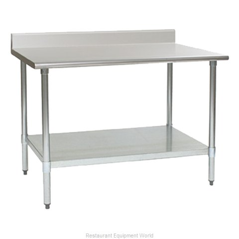 Eagle T30132EB-BS Work Table 132 Long Stainless steel Top