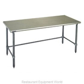 Eagle T30132GTEB Work Table 132 Long Stainless steel Top