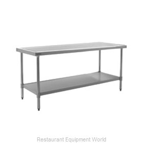 Eagle T30144SEM Work Table 144 Long Stainless steel Top