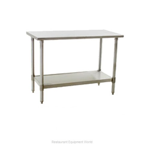 Eagle T3072SE Work Table 72 Long Stainless steel Top