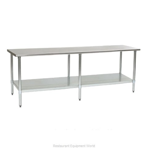 Eagle T3096EB Work Table 96 Long Stainless steel Top