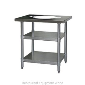 Eagle T3424RCB Work Table 24 Long Stainless steel Top