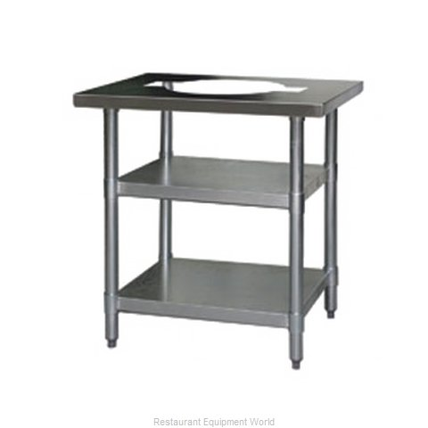 Eagle T3424RCSB Work Table 24 Long Stainless steel Top