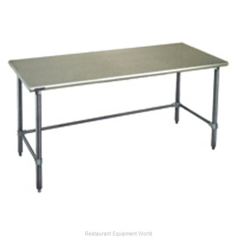 Eagle T36132GTB Work Table 132 Long Stainless steel Top