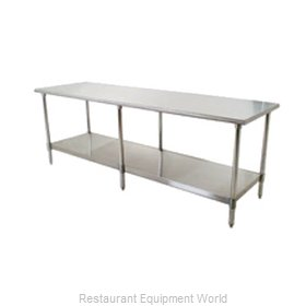 Eagle T36132SB Work Table 132 Long Stainless steel Top