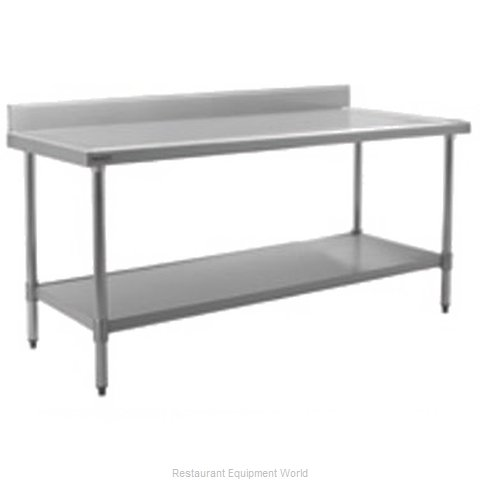 Eagle T36132SEM-BS Work Table 132 Long Stainless steel Top