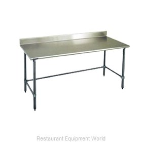 Eagle T36132STEB-BS Work Table 132 Long Stainless steel Top