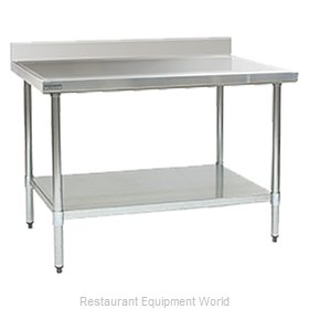 Eagle T36144EM-BS Work Table 144 Long Stainless steel Top