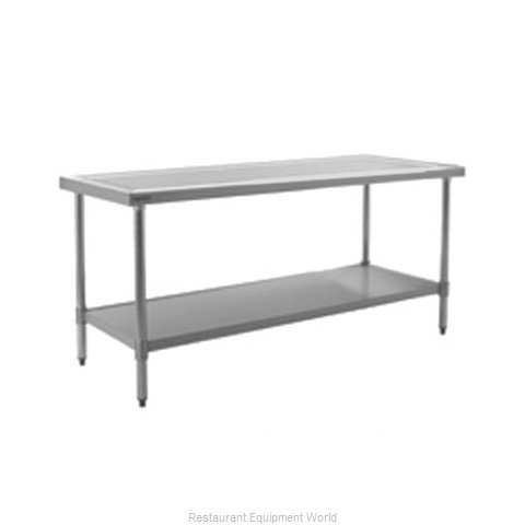 Eagle T36144SEM Work Table 144 Long Stainless steel Top