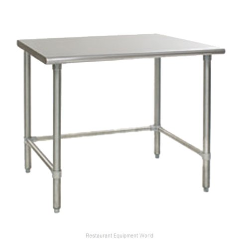 Eagle T36144STEB Work Table 144 Long Stainless steel Top