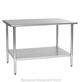 Eagle T3672EB Work Table 72 Long Stainless steel Top