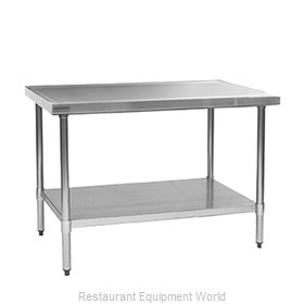 Eagle T3672EM Work Table 72 Long Stainless steel Top