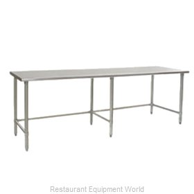 Eagle T3672STEB Work Table 72 Long Stainless steel Top