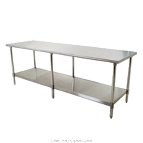 Eagle T3696SB Work Table 96 Long Stainless steel Top