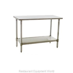 Eagle T4848SE Work Table 48 Long Stainless steel Top