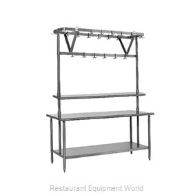 Eagle TM108PR Pot Rack, Table-Mounted