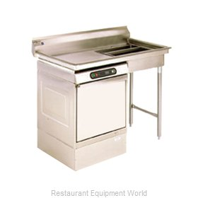 Eagle UDT-5L-16/3-X Dishtable, Soiled, Undercounter