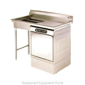 Eagle UDT-5R-14/3 Dishtable, Soiled, Undercounter