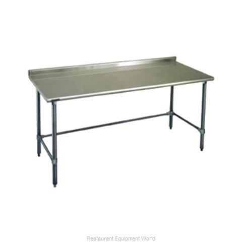 Eagle UT24132GTEB Work Table 132 Long Stainless steel Top (Magnified)