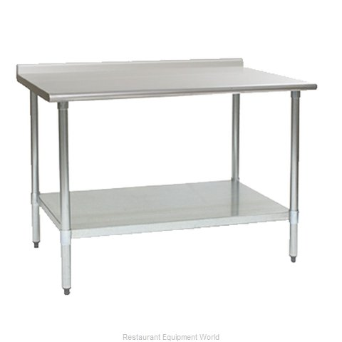 Eagle UT24144E Work Table 144 Long Stainless steel Top