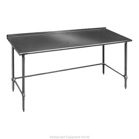 Eagle UT24144GTB Work Table 144 Long Stainless steel Top (Magnified)