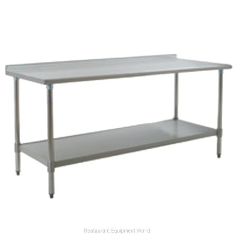 Eagle UT2448SEB Work Table 48 Long Stainless steel Top (Magnified)