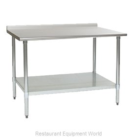 Eagle UT36132E Work Table 132 Long Stainless steel Top