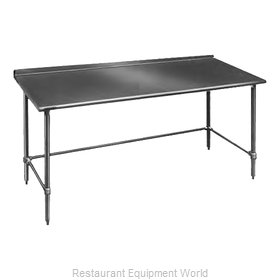 Eagle UT36132GTB Work Table 132 Long Stainless steel Top