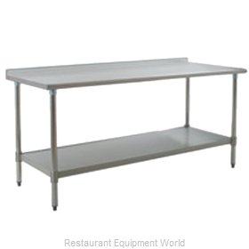 Eagle UT3672SEB Work Table 72 Long Stainless steel Top