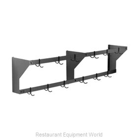 Eagle WM108PR Pot Rack, Wall-Mounted