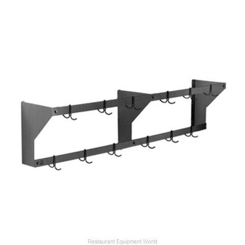Eagle WM36APR Pot Rack, Wall-Mounted (Magnified)