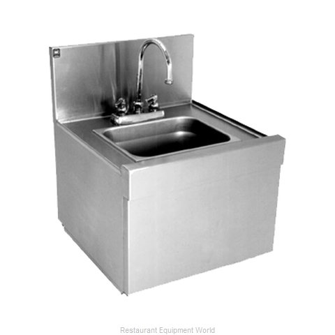 Eagle WSS14-15 Underbar Hand Sink Unit (Magnified)