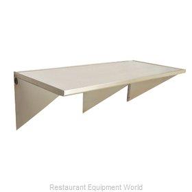 Eagle WT3048SEB-BS Work Table, Wall-Mount