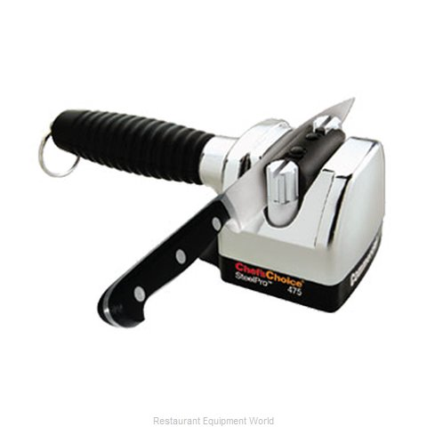 Edgecraft 4750000A Knife Sharpener Manual (Magnified)