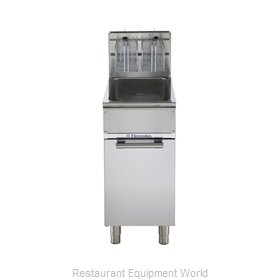 Electrolux Professional 169010 Fryer Floor Model Gas Full Pot