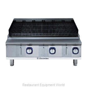Electrolux Professional 169022 Charbroiler Gas Counter Model