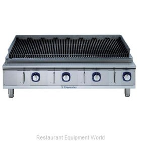 Electrolux Professional 169023 Charbroiler Gas Counter Model