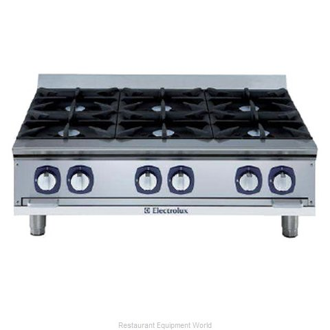 Electrolux Professional 169036 Hotplate Counter Unit Gas