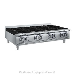 Electrolux Professional 169104 Hotplate, Countertop, Gas