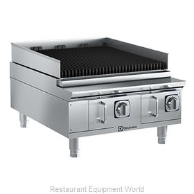 Electrolux Professional 169120 Charbroiler, Gas, Countertop