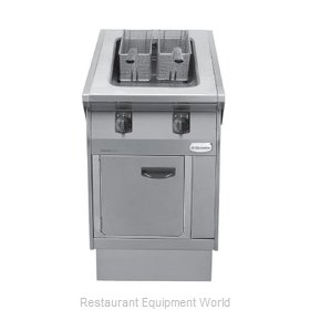 Electrolux Professional 584101 Fryer Floor Model Gas Full Pot