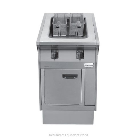 Electrolux Professional 584102 Fryer Floor Model Gas Full Pot