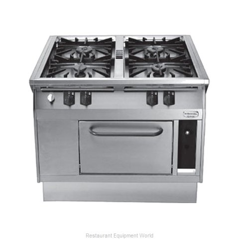 Electrolux Professional 584110 Heavy Duty Gas Range 39 (Magnified)